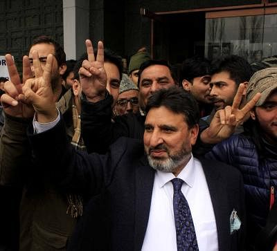 Jammu and Kashmir Finance Minister and ruling Peoples Democratic Party (PDP) leader, Syed Altaf Bukhari . (File Photo: IANS)
