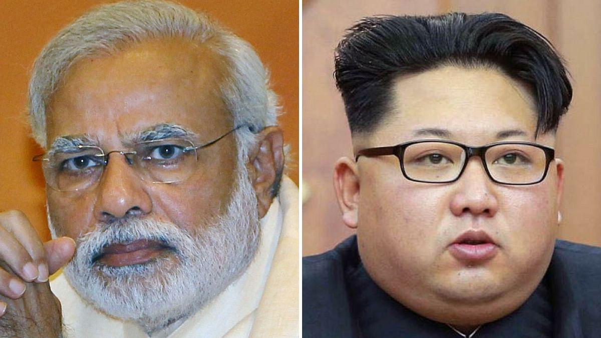 Narendra Modi and Kim Jong Un