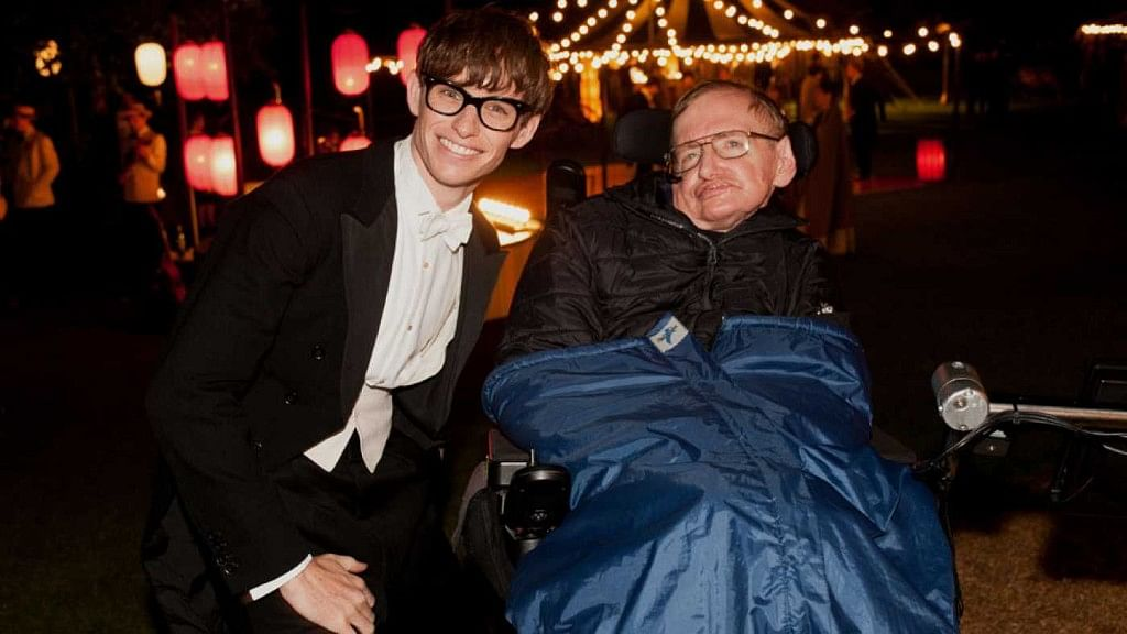 Eddie Redmayne reprised the role of Stephen Hawking in 'The Theory of Everything'.