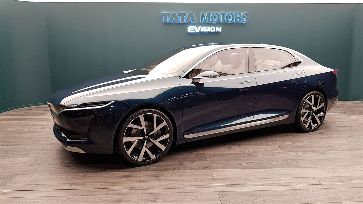 Tata Motors Unveils E-Vision Sedan at Geneva: India's Tesla?