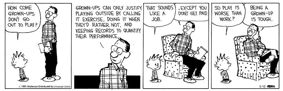 10 Times Calvin And Hobbes Got Adulting 101 Right On Point