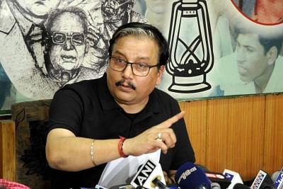 Rashtriya Janata Dal (RJD) leader Manoj Jha said that considering the COVID-19 pandemic, courts are not functioning as usual.