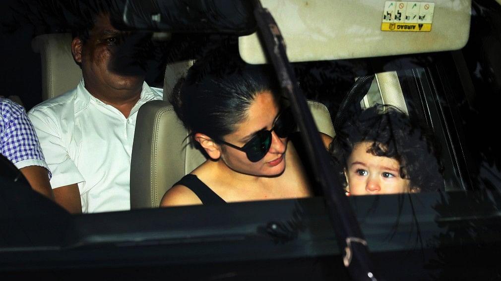 Taimur Ali Khan Pataudi,  Saif Ali Khan and Kareena Kapoor Khan's child.