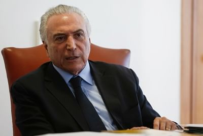President of Brazil Michel Temer. (File Photo: IANS)