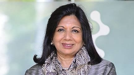 Managing Director and Chairman of Biocon India Ltd Kiran Mazumdar Shaw.