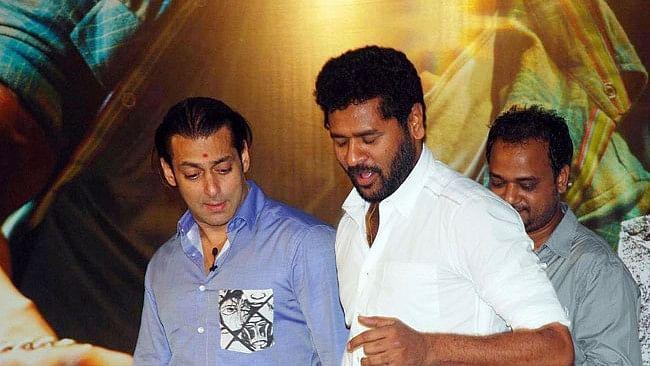 Salman Khan and Prabhudeva come together after&nbsp;<i>Wanted</i>.&nbsp;