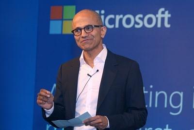 Microsoft Chief Executive Officer Satya Nadella. (File Photo: IANS)