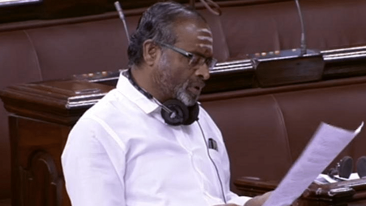 AIADMK MP Navaneethalrishnan.