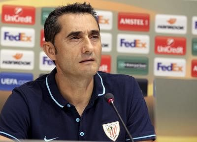 Ernesto Valverde. (FILE PHOTO: EFE/Luis Tejido/IANS)