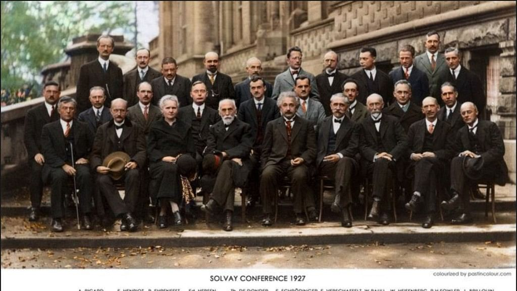 Marie Curie the Only Woman in This Viral Photo of 29 Geniuses
