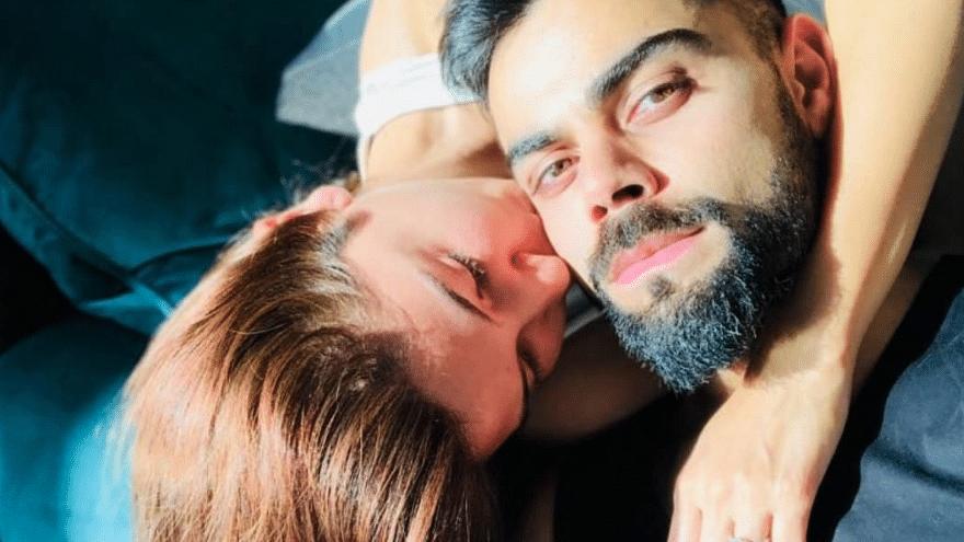 Anushka Sharma and Virat Kohli - the lovestruck couple. (Image Courtesy: Instagram)