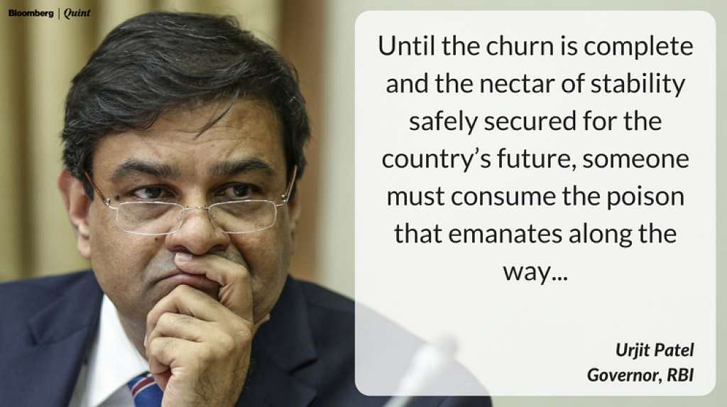 Urijit's comment on bank stability.