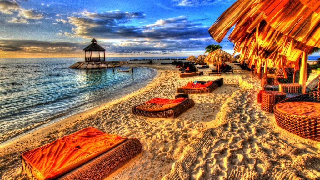 A glimpse of Jamaica.