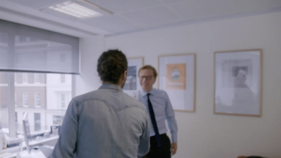 Documentary Shows Congress Poster in Cambridge Analytica's Office