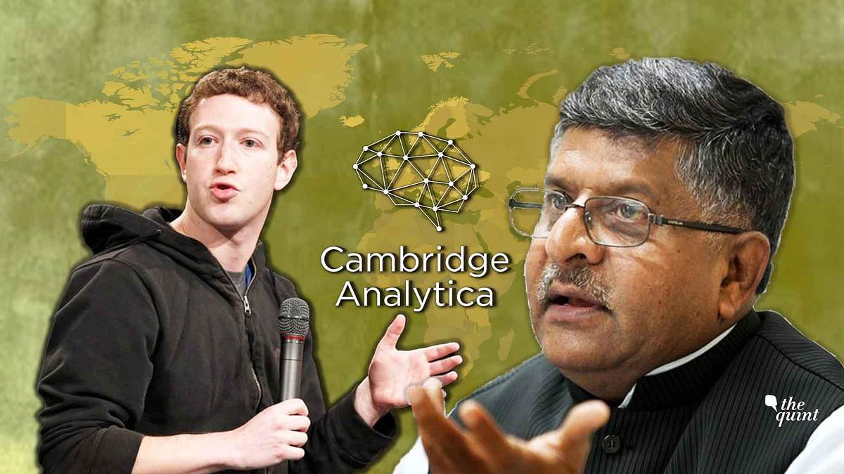 Facebook has suspended Cambridge Analytica over policy violation.