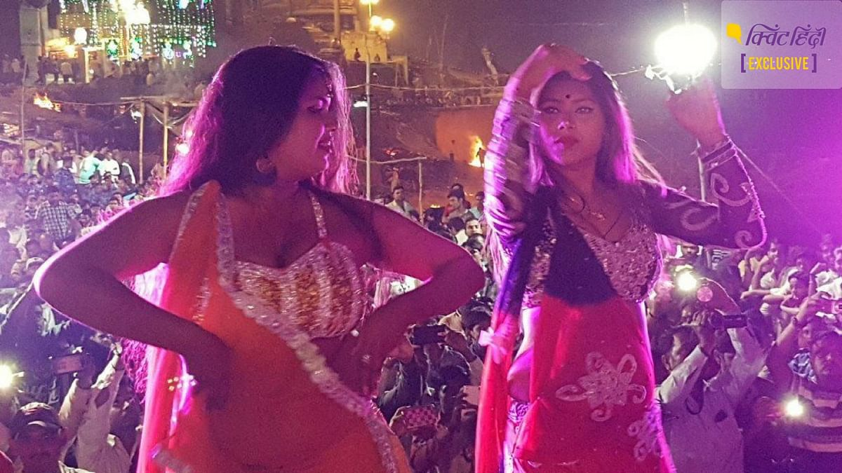 On Saptmi (7th night of the moon) during Chaitra Navratri, sex workers dance between the funeral pyres all night.
