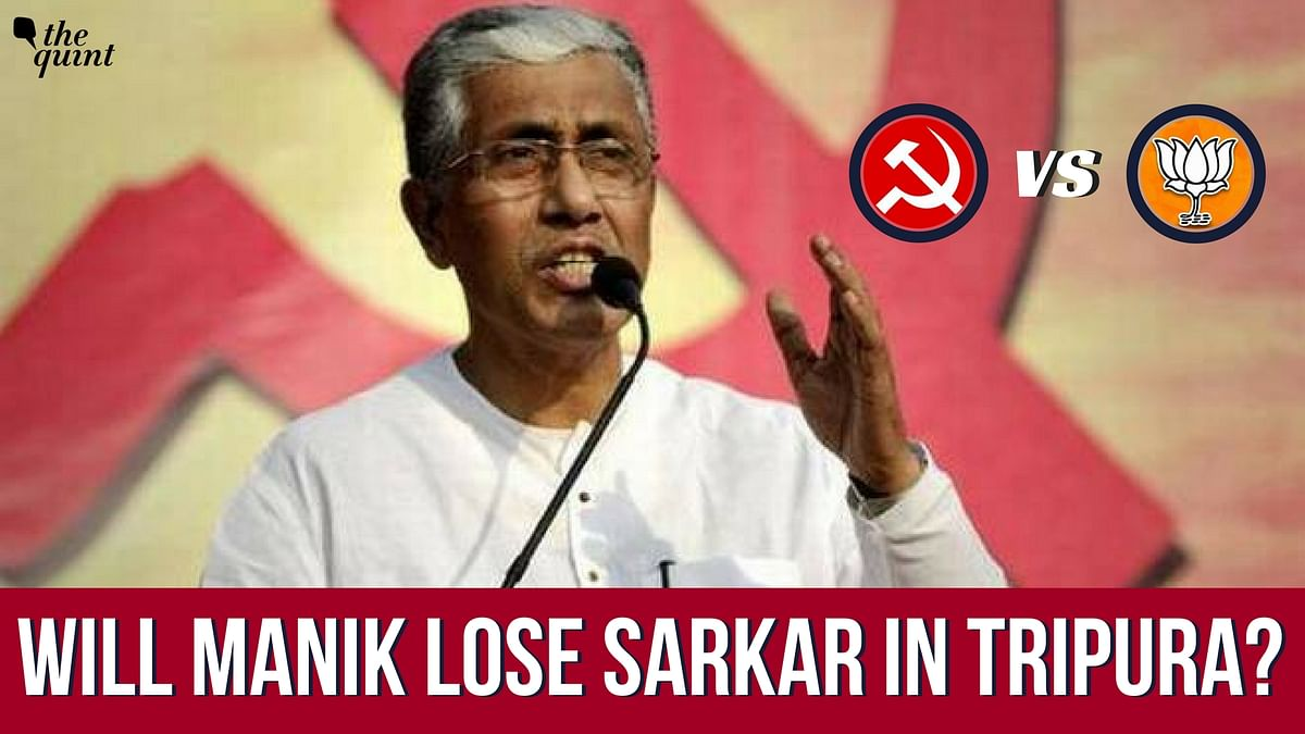 Can CPI(M)'s talisman Manik Sarkar stave off the BJP's advances into Left Front territory?