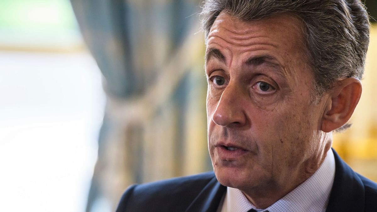 File photo of Nicolas Sarkozy.