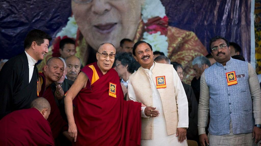 With Dalai Lama & Union Min on Stage, Tibetan Leader Slams China