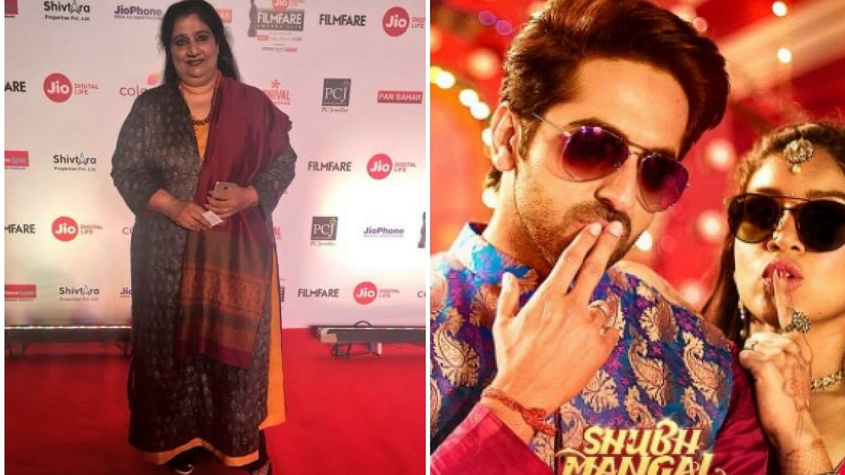 Actor Seema Pahwa in <i>Shubh Mangal Saavdhan.</i>