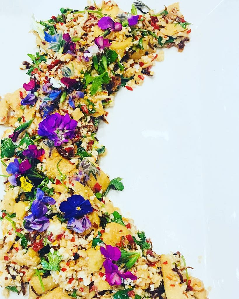 The tradition of cooking with flowers isn't new.