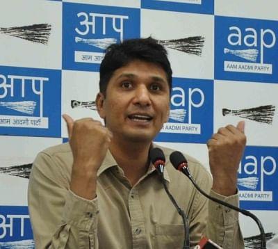AAP chief spokesperson Saurabh Bharadwaj. (File Photo: IANS)