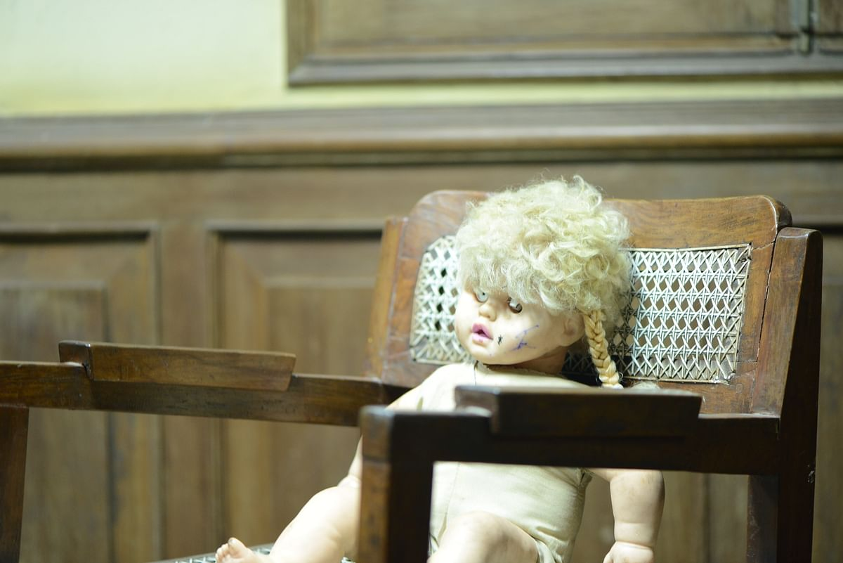 The 'under-trial' at the Doll's Court.