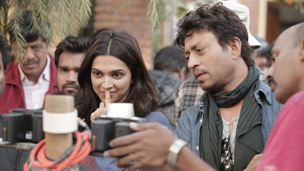 Deepika Padukone and Irrfan Khan in <i>Piku</i>.&nbsp;