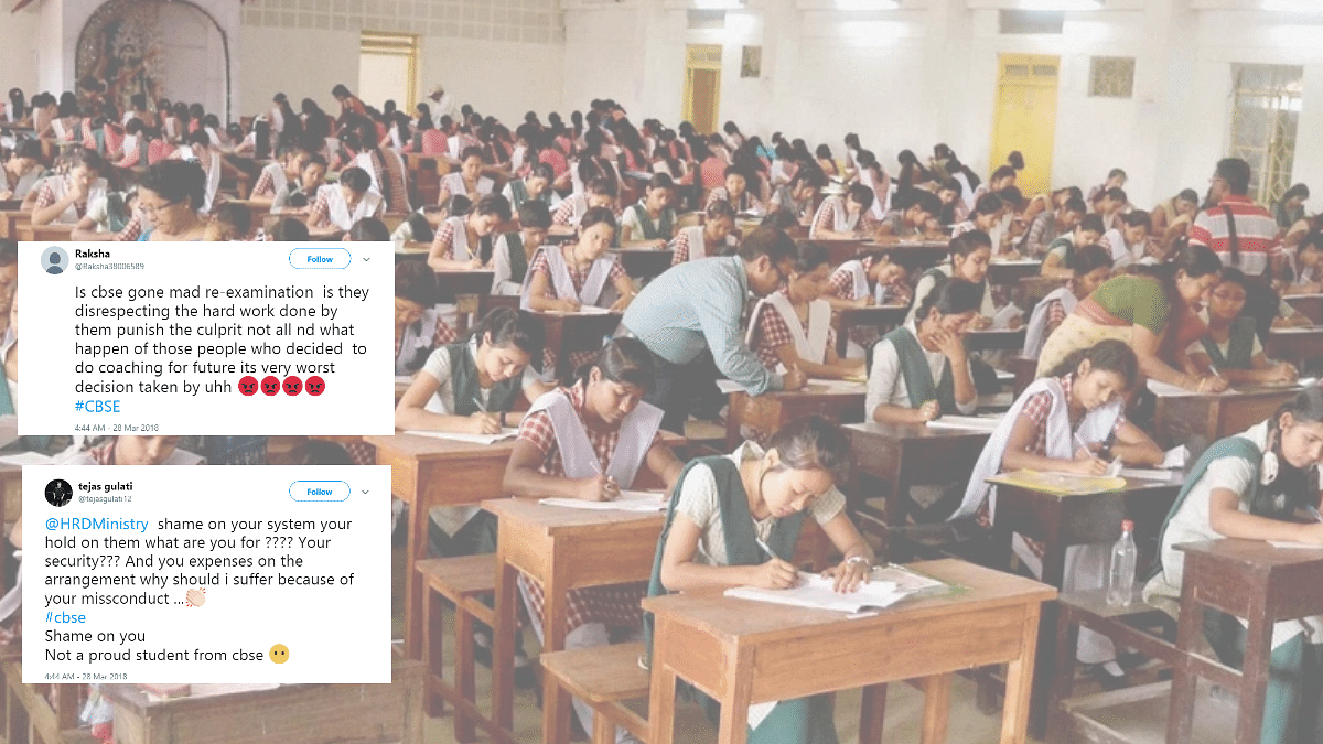 CBSE Re-Exam: Why Should We Suffer, Ask Angry Students on Twitter