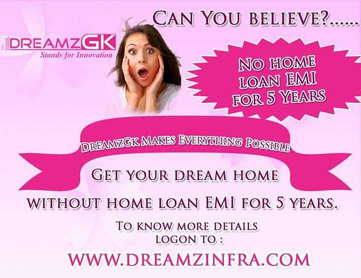 A newspaper advertisement of DreamzGK.