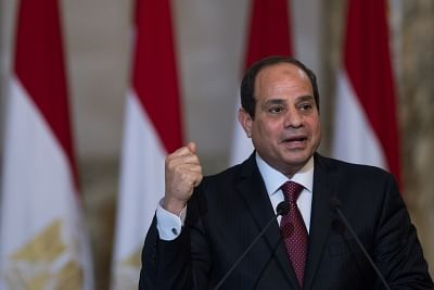 Egyptian President Abdel Fattah al-Sisi. (File Photo: IANS)