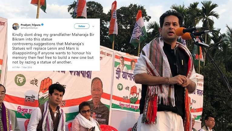 Don't Build My Granddad's Statue by Razing Others': Tripura Royal