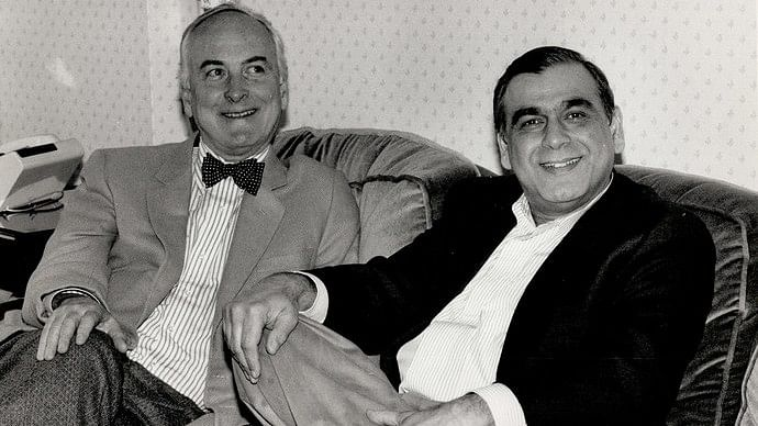 James Ivory and Ismail Merchant ran the Merchant-Ivory Productions.
