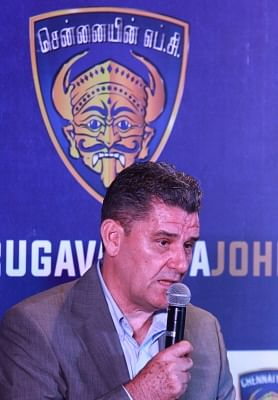 Chennaiyin FC head coach John Gregory. (Photo: IANS)