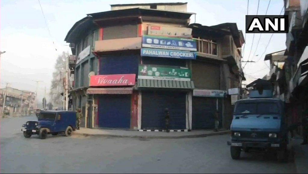 Shops closed in Anantnag's Hakura, following the encounter.