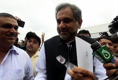 Shahid Khaqan Abbasi.