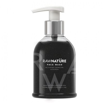 Activated Charcoal & Quinoa Face Wash.