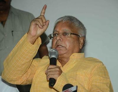 RJD chief Lalu Prasad Yadav. (File Photo: IANS)