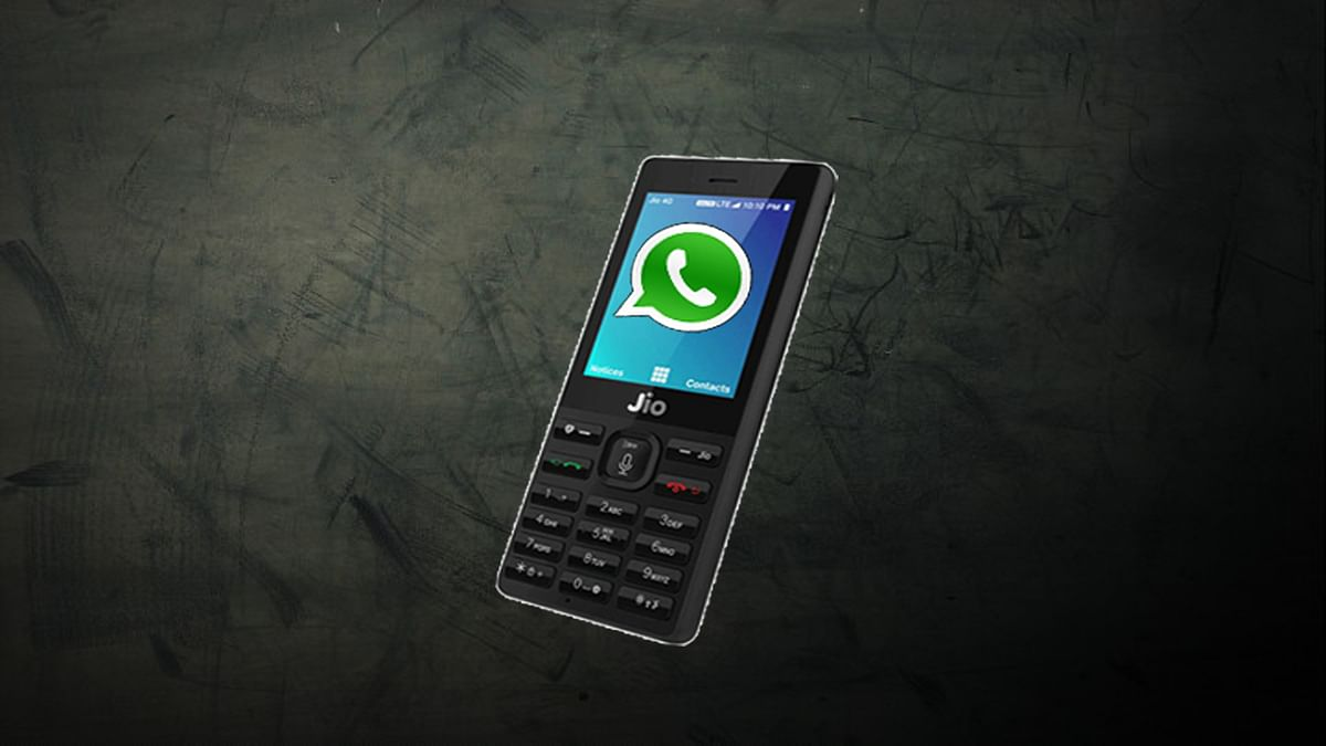 WhatsApp is available on JioPhone.