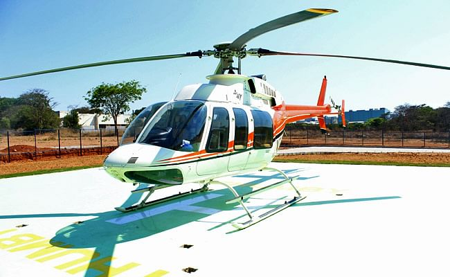 With New Heli-Taxi, Reach B'luru Airport From E-City in 15 Mins