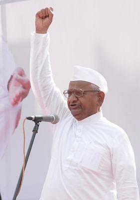 Social activist Anna Hazare (File Photo: IANS)