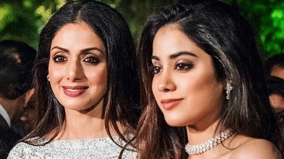 Janhvi is the elder of the two daughters Sridevi had with Boney Kapoor.