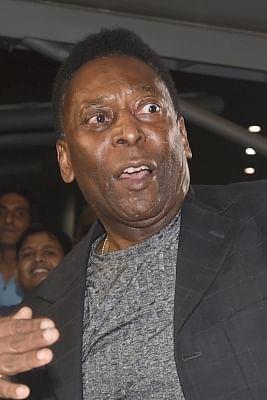Brazilian football legend Pele. (File Photo: IANS)