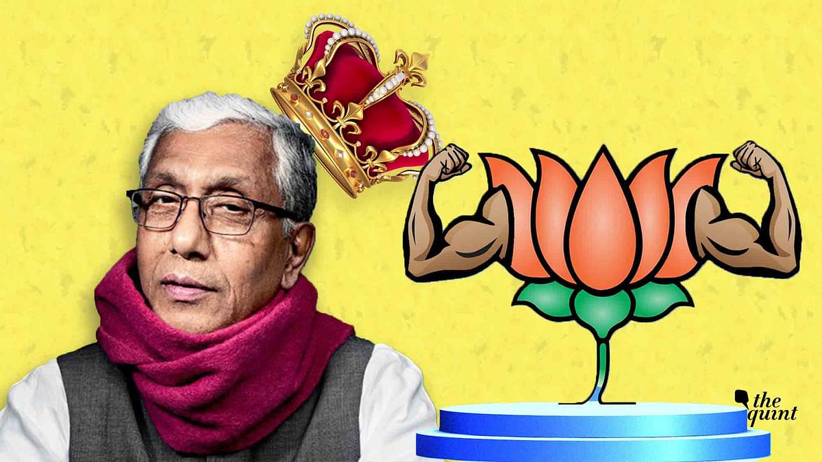 Manik Sarkar's unexpected defeat in Tripura marks the fall of the Left; anti-incumbency seems to have favoured the BJP.