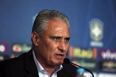 """The head coach of the Brazilian national soccer team, Adenor Leonardo Bacchi """"Tite"""",. (Xinhua/Rahel Patrasso/IANS)"""