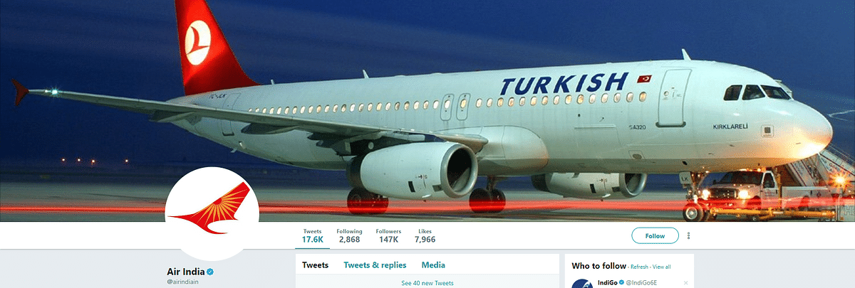 Air India's Twitter Account Hacked by Suspected Turkish Group