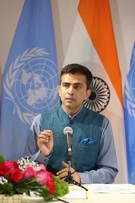 Official Spokesperson of Ministry of External Affairs Raveesh Kumar . (File Photo: IANS)