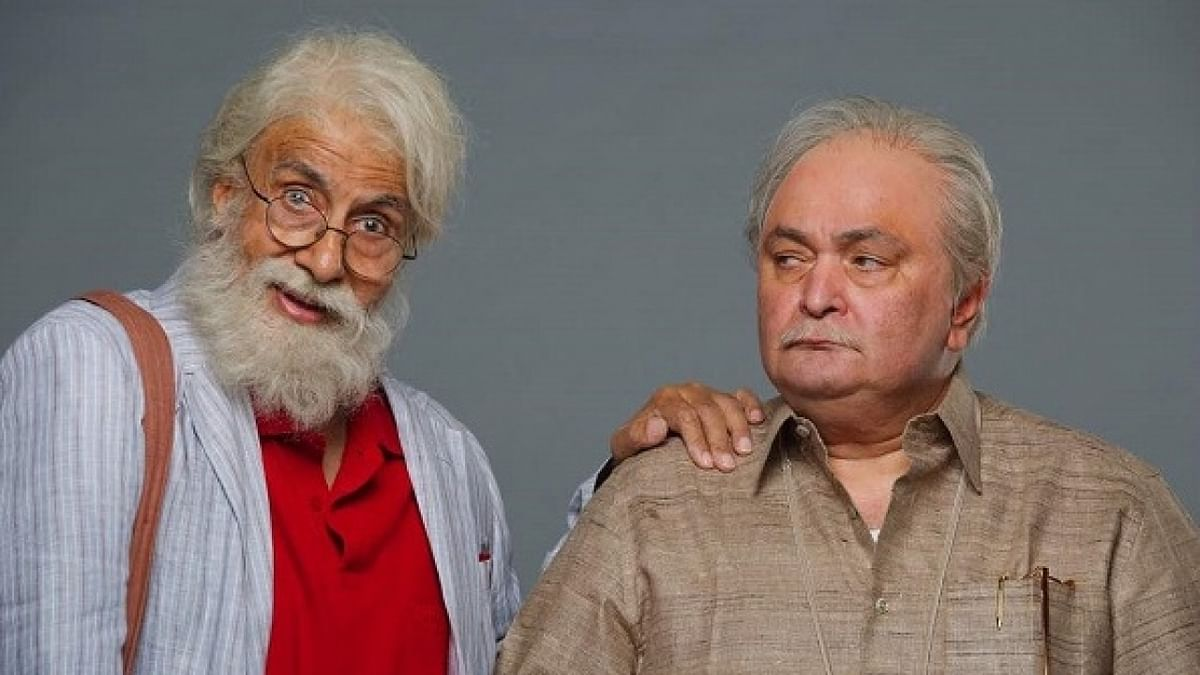 Amitabh Bachchan and Rishi Kapoor in <i>102 Not Out.</i>