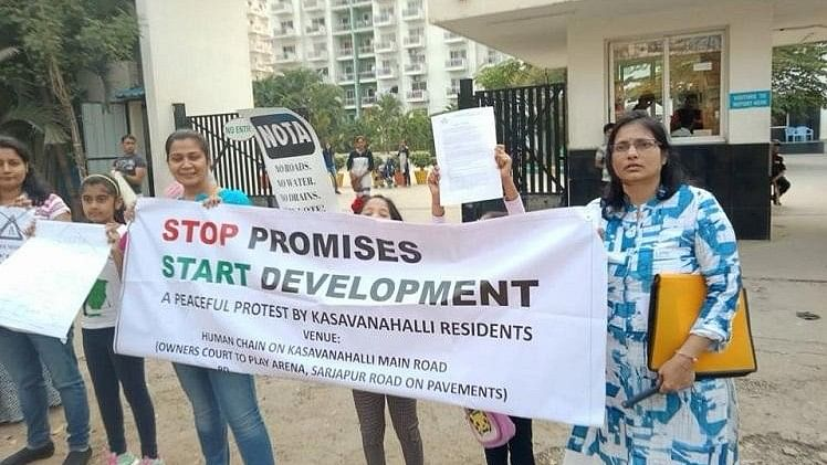 Fix Roads & Water Supply Or We'll Vote NOTA: Bengaluru Residents