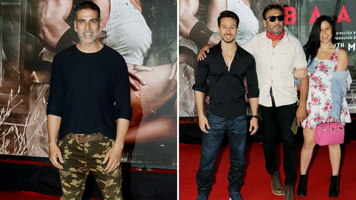 <i>Baaghi 2</i> screening with Bollywood in attendance.&nbsp;